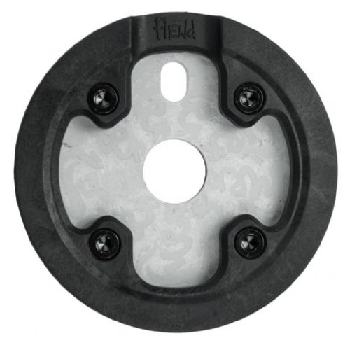 Fiend Varanyak V2 Sprocket With Guard - Tumbled Aluminium 25 Tooth
